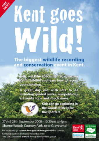 A Poster design for a wildlife event